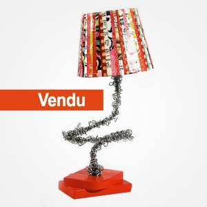 Lampe Jazzy rouge