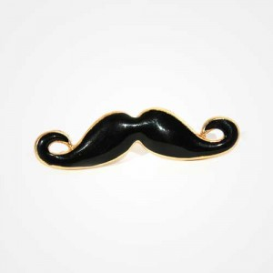 "Broche""Mr. Moustache"""
