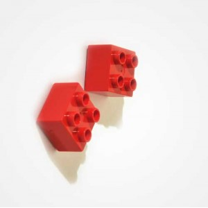 "Magnets""Duplo"" Rouge"