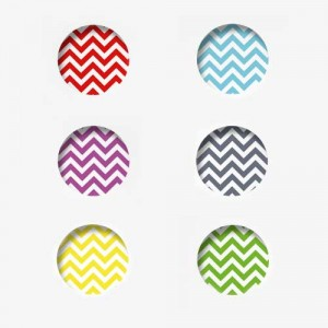 "Badges ""Zigzag"""